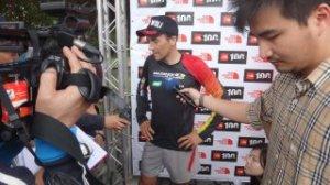 Salomon running Miguel Heras Taiwan 100k 2012 3