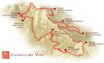ultra cavalls del vent 2012 race course map