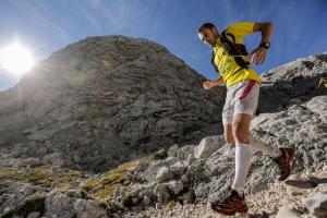 Iker Carrera winner of the Goretex transalpine run 2012