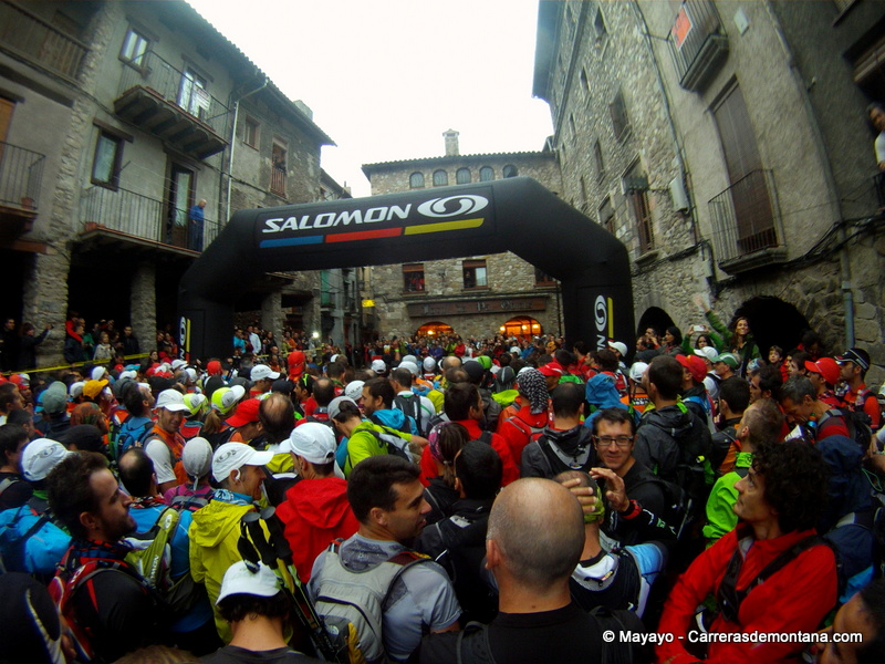 Skyrunning Cavalls del Vent 2012 photos Start of the race