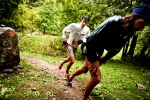 Anton Krupicka and Kilian Jornet fighting it out at Cavalls del vent 2012
