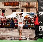Kilian jornet photos trail running 2012 finish line at Cavalls del Vent