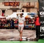 Kilian jornet photos trail running 2012 finish line at Cavalls del Vent