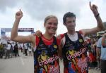 KILIAN JORNET AND EMELIE FORSBERG WORLD CHAMPION 2012 at Kinabalu Climbathlon