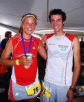 Pikes Peak Marathon 2012 foto Kilian Jornet y Emelie Forsberg