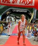 Emelie Forsberg wins Dolomites Skyrace 2012. Photo Elvis