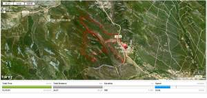 cross alpino peña del tren mapa 2012