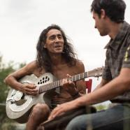 Kilian Jornet and Pablo Vigil at Colorado. Summer 2012. Photo: Salomon.