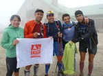 trail running spain nerea martinez pablo criado jorge rivero and david gonzalez after anillo del vindio