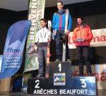 Kilian jornet esqui montaña 2º en campeonato francia 2013 podio foto nuria burgada