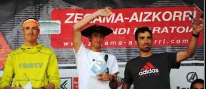 Zegama Aizkorri podio masculino foto org.
