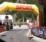 Andorra Ultra trail 2013 julien chorier entra campeón en ordino. foto organizacion