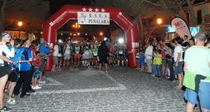 Trail running at Madrid: Last minutes at the start line.