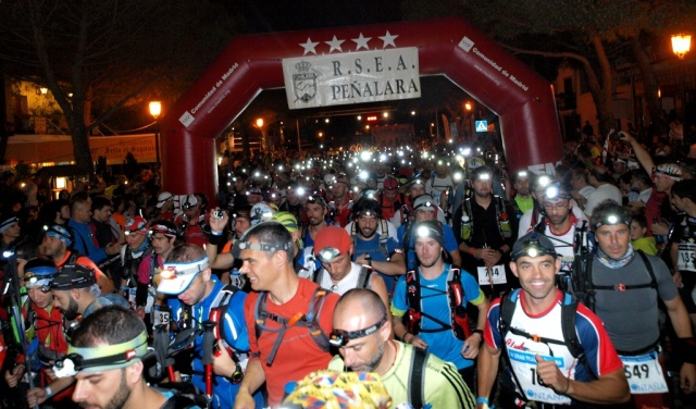 Gran trail Peñalara 110km start. 28th June. 23H