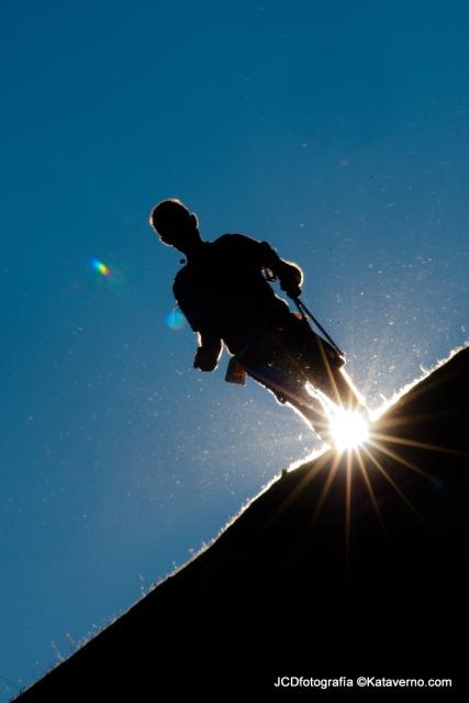 Cavalls del Vent 2013 runners at race summit. Niu de l´Aliga (2500m) Photo: Kataverno.