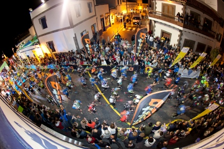 TNF Transgrancanaria 2013 start. Photo: Transgrancanaria.