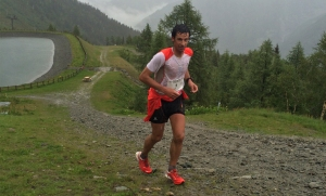 Kilian Jornet world champion skyrunning 2014 at marathon mont blanc. Photo: Brian Jones