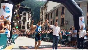 Luis Alberto Hernando ultra sky world champion. Photo @ENDU_MAG