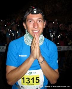 Manuel Merillas at transvulcania. Photo: Mayayo.