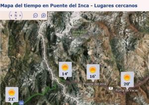 Puente del Inca meteo Kilian Jornet 2