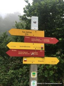 ehunmilak 2016 basque trail signs by km135