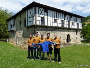 Igartza palace to host pasta party & Ternua finisher jacket