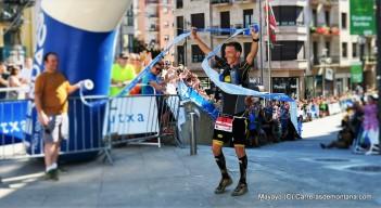 Javi Dominguez gana Ehunmilak 168k con Superfeline SL