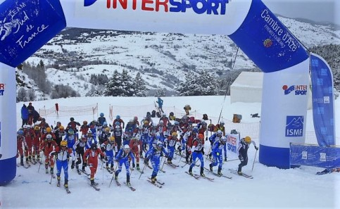 Start individual race. Photo ISMF