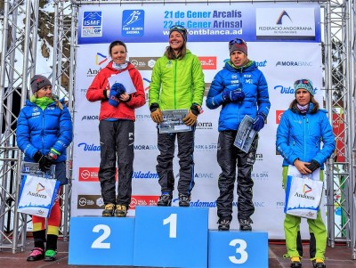 Skimo World Cup 2017 Vertiical Fontblanca (C) ISMF