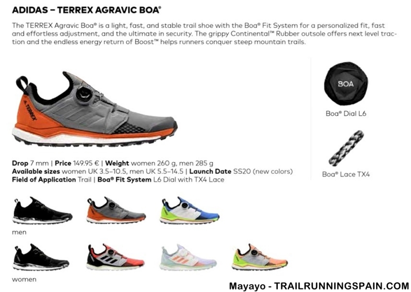 dieta puerta par  Adidas Terrex agravic Boa review (Copy) | TrailrunningSpain.com