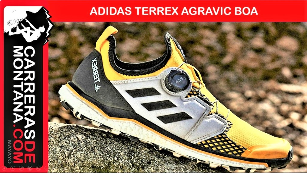 nadie Fuera de legal  ADIDAS TERREX AGRAVIC BOA®: TRAILRUNNING SHOES FOR TECHNICAL TERREIN. BOA®  CLOSURE SYSTEM, CONTINENTAL SOLE AND BOOST CUSHION. | TrailrunningSpain.com
